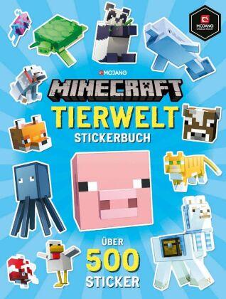 Minecraft Tierwelt Stickerbuch