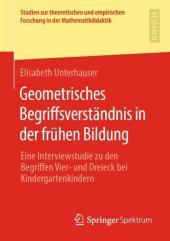 Geometrisches Begriffsverständnis in der frühen Bildung