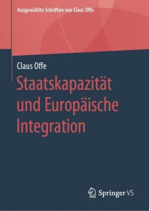 Staatskapazität und Europäische Integration