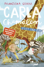 Carla Chamäleon: Zoff im Zoo; . Cover