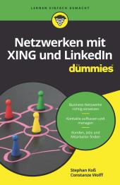 Netzwerken mit Xing und LinkedIn für Dummies Cover