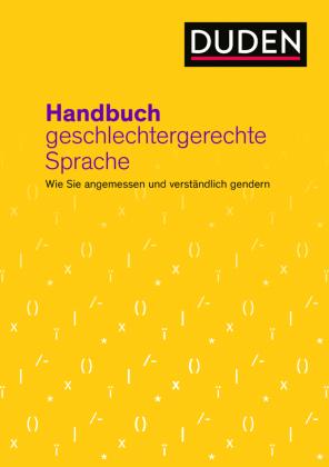 Duden - Handbuch geschlechtergerechte Sprache