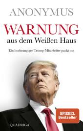 Warnung aus dem Weißen Haus Cover
