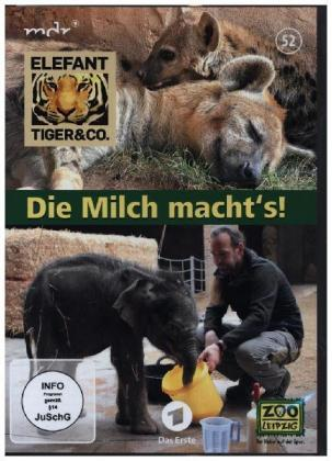Elefant, Tiger & Co. - Die Milch macht's! - mit der 800. Folge, 1 DVD