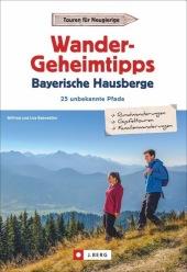 Wandergeheimtipps Bayerische Hausberge Cover