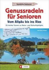 Genussradeln für Senioren - Vom Allgäu bis ins Ries Cover