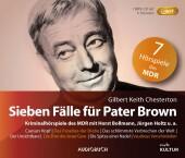Sieben Fälle für Pater Brown, 1 Audio-CD, MP3 (Sonderausgabe)