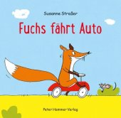 Fuchs fährt Auto Cover