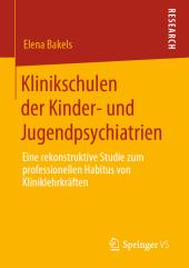 Klinikschulen der Kinder- und Jugendpsychiatrien