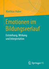 Emotionen im Bildungsverlauf
