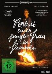Porträt einer jungen Frau in Flammen, 1 DVD Cover