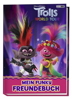 Trolls World Tour: Mein funky Freundebuch