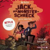 Jack, der Monsterschreck, und die Zombie-Party, 2 Audio-CD