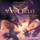 Die Abenteuer des Apollo - Die Gruft des Tyrannen, 6 Audio-CD