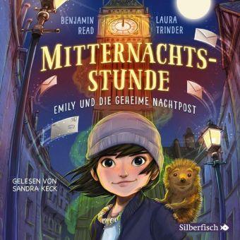 Mitternachtsstunde - Emily und die geheime Nachtpost, 4 Audio-CD