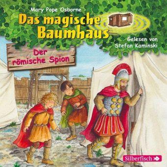 Das magische Baumhaus - Der römische Spion, 1 Audio-CD