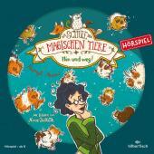 Die Schule der magischen Tiere - Hin und weg! Das Hörspiel, 1 Audio-CD Cover