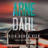 Vier durch vier, 2 Audio-CD, MP3 Cover