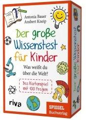Der große Wissenstest für Kinder - Was weißt du über die Welt? (Kinderspiel)