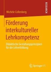Förderung interkultureller Lehrkompetenz