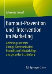 Burnout-Prävention und -Intervention im Marketing
