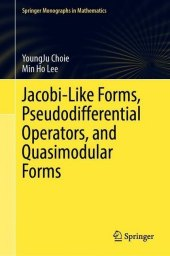 Jacobi-Like Forms, Pseudodifferential Operators, and Quasimodular Forms