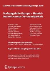 Aachener Bausachverständigentage 2019