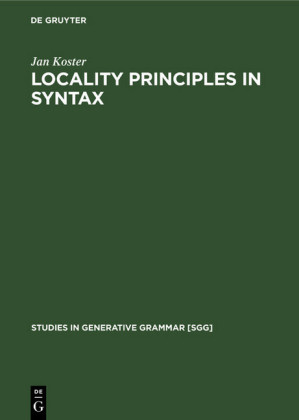 Locality principles in syntax