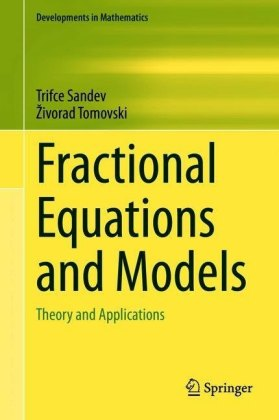 Fractional Equations and Models