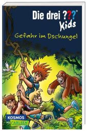 Die drei ??? Kids 62: Gefahr im Dschungel Cover