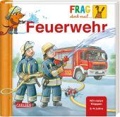 Frag doch mal ... die Maus!: Feuerwehr Cover