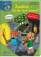 Lesenlernen mit Spaß - Minecraft: Zombies - bis der Arzt kommt! Cover