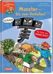 Lesenlernen mit Minecraft: Monster - bis zum Umfallen! Cover