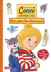 Meine Freundin Conni - Geheimnis um Kater Mau. Mein tolles Film-Stickerbuch