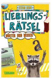 Lieblingsrätsel - Wörter und Wissen, ab 10 Jahren (Kreuzworträtsel, Buchstabensalat, Geheimcodes und vieles mehr)
