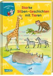 Starke Silben-Geschichten mit Tieren Cover