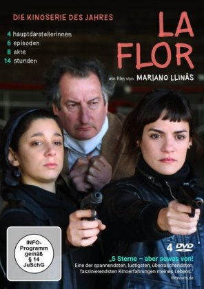 La Flor, 4 DVD (OmU)