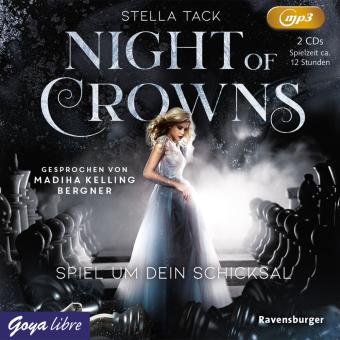 Night of Crowns - Spiel um dein Schicksal, 2 Audio- CD, MP3