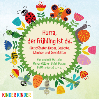 Hurra, der Frühling ist da!, Audio-CD