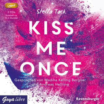 Kiss me once, 2 Audio- CD, MP3