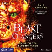Beast Changers - Im Reich der Feuerdrachen, 5 Audio-CD Cover