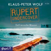 Rupert undercover. Ostfriesische Mission, 4 Audio-CD Cover
