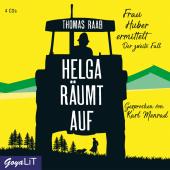 Helga räumt auf, 4 Audio-CD Cover