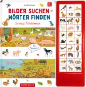 Bilder suchen - Wörter finden - So viele Tierstimmen Cover