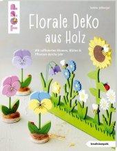 Florale Deko aus Holz Cover