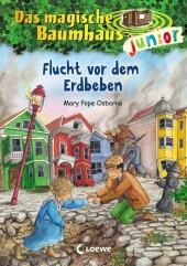 Das magische Baumhaus junior - Flucht vor dem Erdbeben Cover