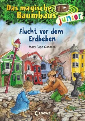 Das magische Baumhaus junior - Flucht vor dem Erdbeben