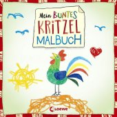Mein buntes Kritzel-Malbuch (Hahn)