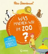 Was machen wir im Zoo? Cover
