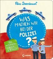 Was machen wir bei der Polizei? Cover